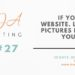 Marketing Tip 27: If you have a website, let real pictures help tell your story